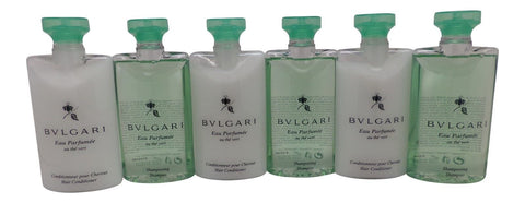 Bvlgari au the vert Shampoo & Conditioner lot of 6 (3 of each) 2.5oz Bottles