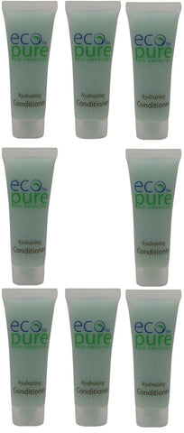 Eco Pure Hydrating Conditioner Lot of 8 each 1oz Bottles. Total of 8oz