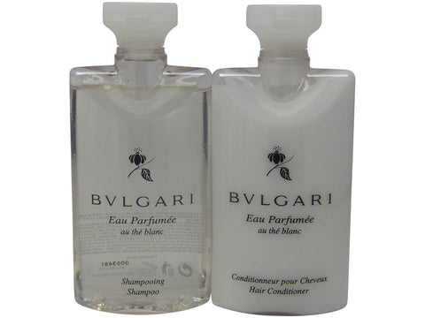 Bvlgari White Tea au the blanc Shampoo & Conditioner lot of 4 (2 of each)