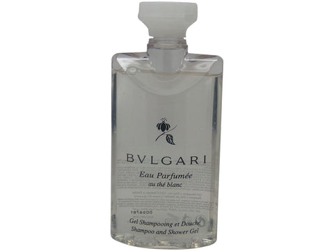 Bvlgari au the blanc Shampoo & Shower Gel lot of 6 each 2.5oz Total of 15oz