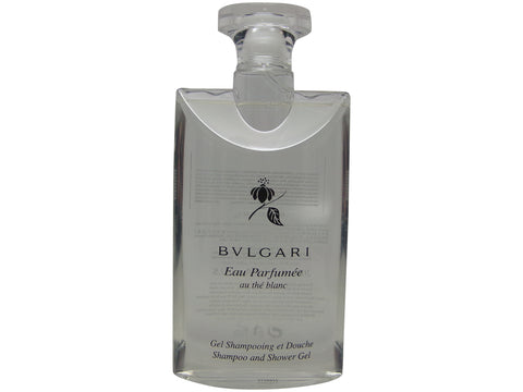Bvlgari au the blanc (white tea) Shampoo and Shower Gel 6.8oz 200ml