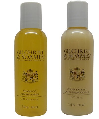 Gilchrist & Soames English Spa Shampoo & Conditioner Lot of 6 (3 of each) 2oz Bottles