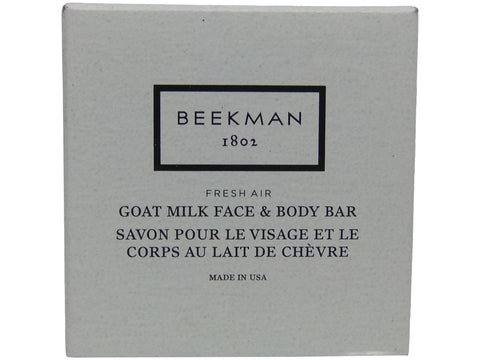 Beekman 1802 Fresh Air Goat Milk Face and Body Bar Boxed Soaps 1.25oz Set of 6