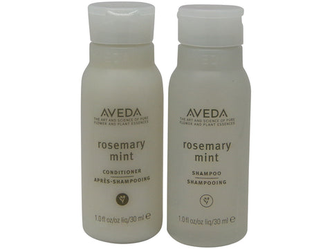 Aveda Rosemary Mint Shampoo & Conditioner lot of 4 bottles. 2 of each