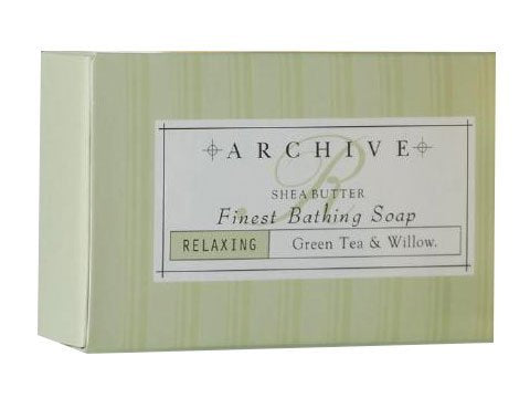 Archive Essentials Green Tea & Willow Bath Soap 2.25oz Each, Set of 9