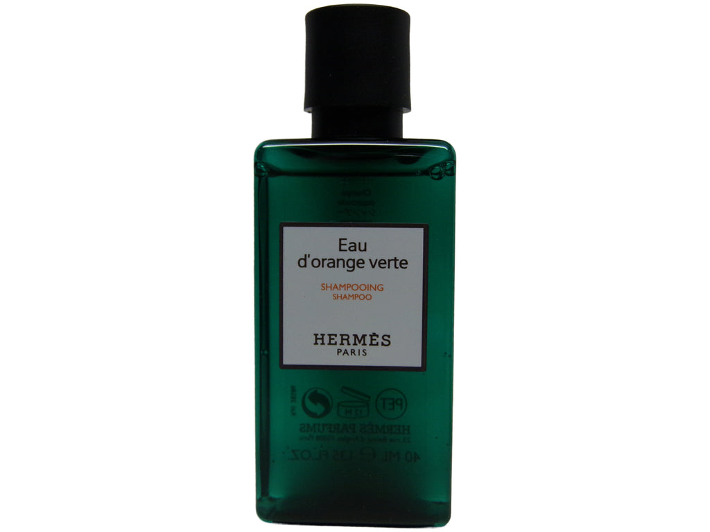 5.4oz (Four 1.35 Ounce Bottles) Hermes d'Orange Shampoo With D-Pantenol Vitamins