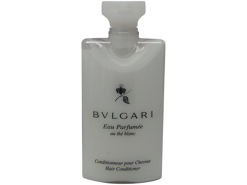 Bvlgari White Tea au the blanc Conditioner Lot of 6 ea 2.5oz Bottles.