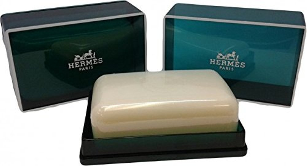 Hermes Jumbo Soap Eau d'Orange Verte Gift Soap From Hermes Paris 5.2oz / 150g Perfumed Soap