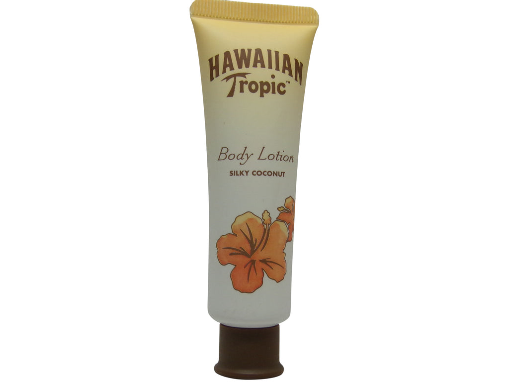Hawaiian Tropic Silky Coconut Body Lotion 1oz Lot of 16. Total of 16oz