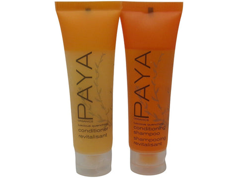 PAYA Organics Luscious Quenching Shampoo & Conditioner lot of 24 (12 of each)