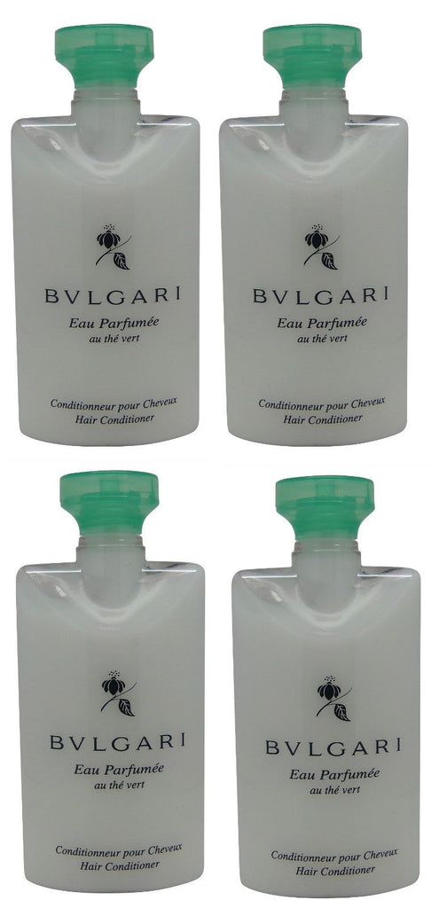 Bvlgari au the vert Green Tea Conditioner lot of 4 each 2.5oz Total of 10oz