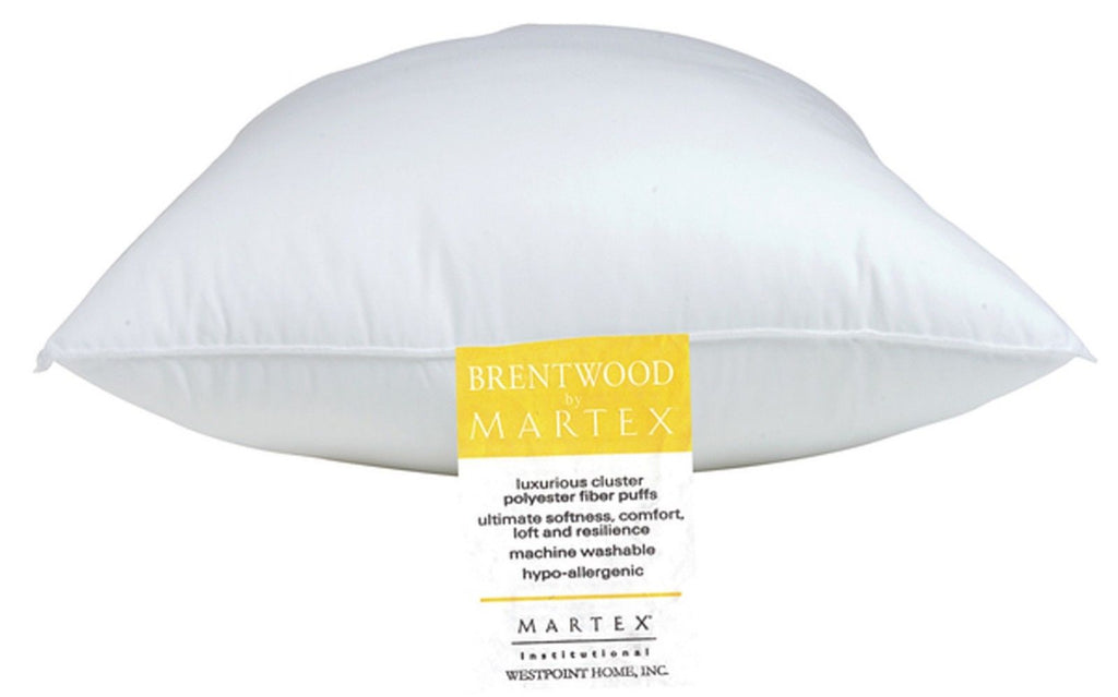2 Martex Brentwood Gold Label Jumbo Hotel Pillows