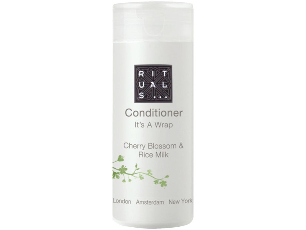 Rituals Its a Wrap Cherry Blossom & Rice Milk Conditioner. Lot of 10 Total 8.5oz