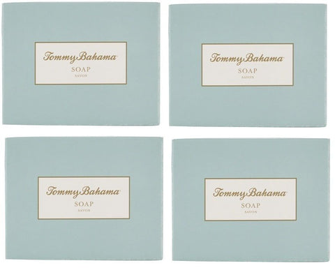 Tommy Bahama Soap Lot of 4 each 1.76oz Bars. Total of 7.08oz