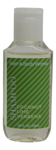 Bath & Body Works Coconut Lime Verbena Shampoo Lot of 24 Featured at Holiday Inn