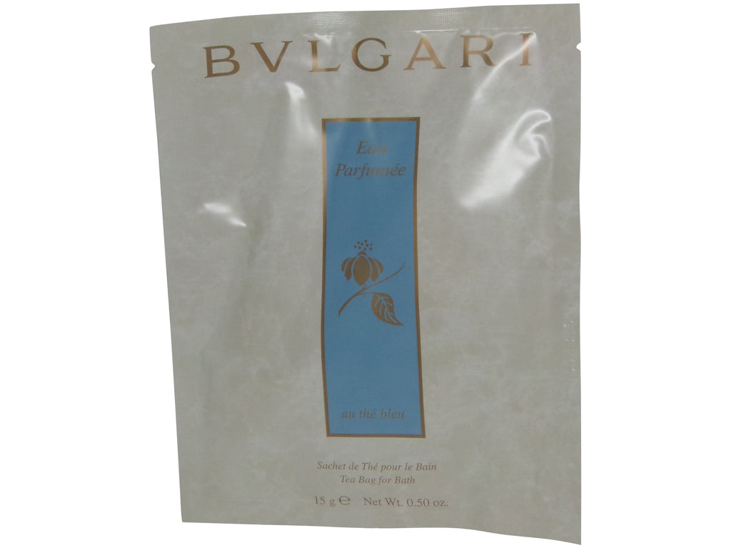 Bvlgari Eau Parfumee Au the Bleu (BlueTea) Tea Bag Lot of 6