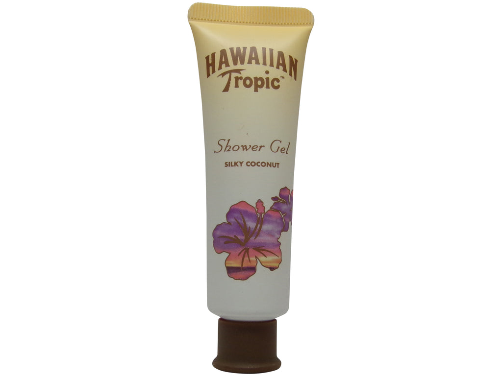 Hawaiian Tropic Silky Coconut Shower Gel Lot of 16 each 1oz Total 16oz