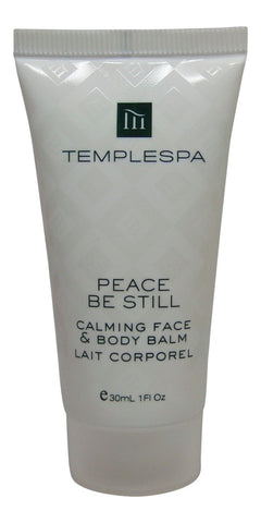 Temple Spa Peace Be Still Calming Face Body Balm Lotion 4 each 1oz tubes