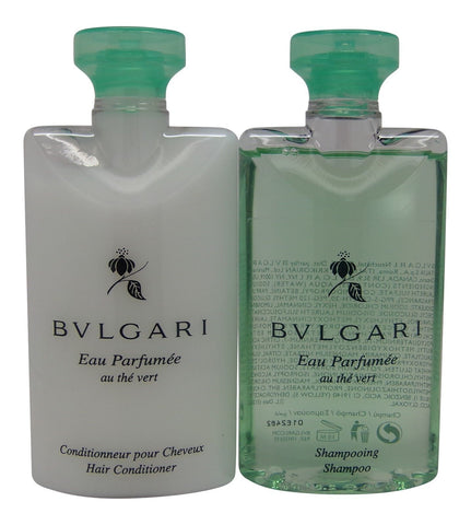 Bvlgari au the vert Green Tea Shampoo & Conditioner lot of 2 (1 of each)