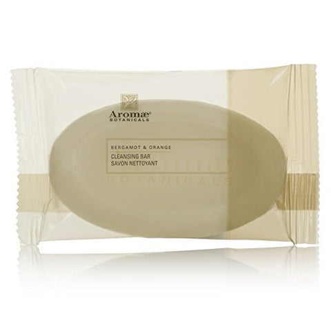 Aromae Botanicals Bergamot & Orange Cleansing Soap Lot of 16 Each 1.6oz Bars. Total of 25.6oz