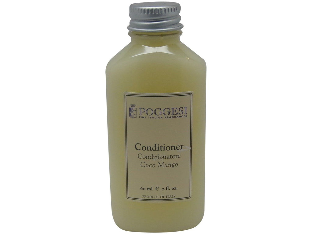 Poggesi Coco Mango Conditioner Lot of 6 each 2oz Bottles. Total of 12oz