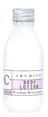 Archive Essentials Rosehips & Lavender Body Lotion 45ml, Set of 9