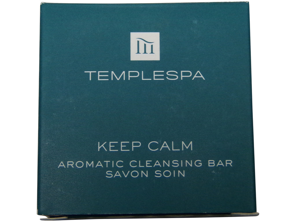 Temple Spa Keep Calm Aromatic Cleansing Soap 4 each 1.4oz bars. Total of 5.6oz