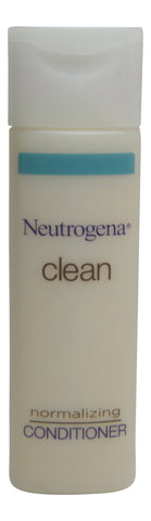 Neutrogena Clean Normalizing Conditioner lot of 10 ea 0.8oz Bottles Total 8oz