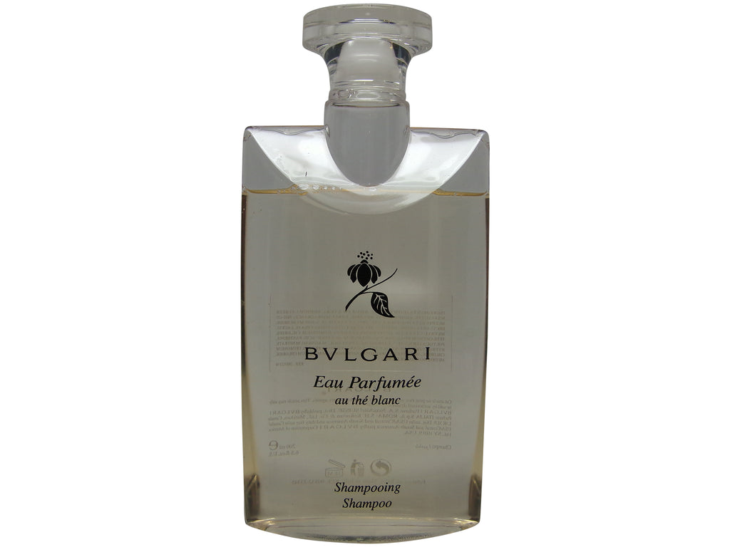 Bvlgari au the blanc (white tea) Shampoo 6.8oz 200ml