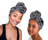 Bambi Stretched Mother Daughter Fabric Head wrap