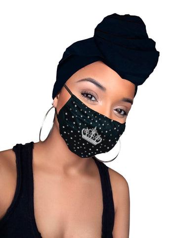 Ade Face Mask and Headwrap