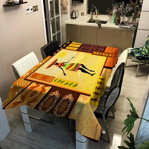 African Table Cloth