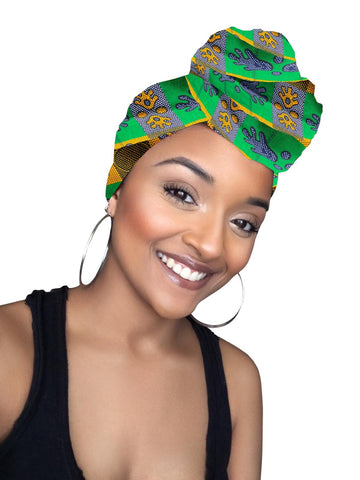 Toni Satin Lined Headwrap