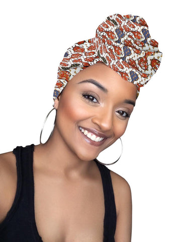 Xia Satin Lined Headwrap