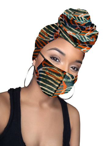Noni Head wrap and mask