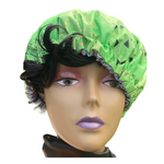 Angela African Print Satin Lined Bonnet