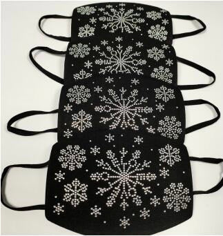 Snowflake Rhinestone Diamond Mask ($15 sale item)
