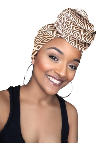 Kylie Satin Lined Headwrap