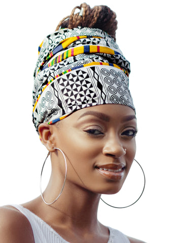 Whitney Headwrap and Mask