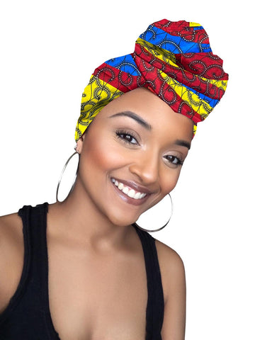 Kayla Satin Lined  Headwrap