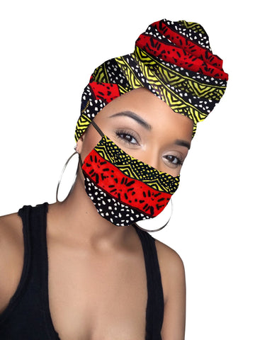 Red Royals Headwrap (no mask)