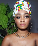 Reggae Slip On satin lined headwrap