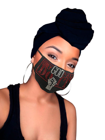 ONLY GOD CAN DO IT Face Mask & Headwrap Combo