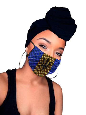 Barbados Face Mask ONLY