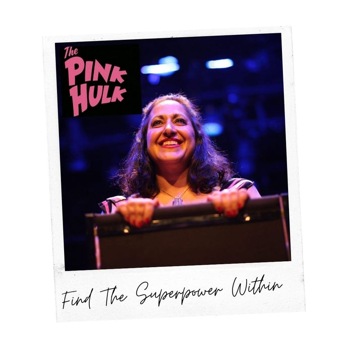 Escape With The Pink Hulk, Written and performed by Valerie David