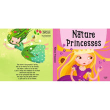 Load image into Gallery viewer, Sassi Book and Giant Puzzle - Nature Princesses, 60 pcs