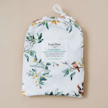 Load image into Gallery viewer, FITTED BASSINET SHEET & CHANGE PAD/SNUGGLE ME ORGANIC COVER - EUCALYPT