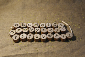 Alphabet Threading Set