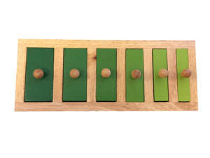 NARROW WIDE KNOB PUZZLE