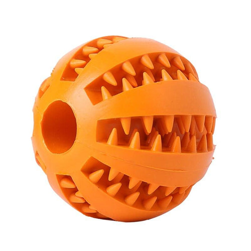 Dog Toy Rubber Tooth Cleaning Ball Chew Toys